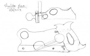 Shoulder plane design