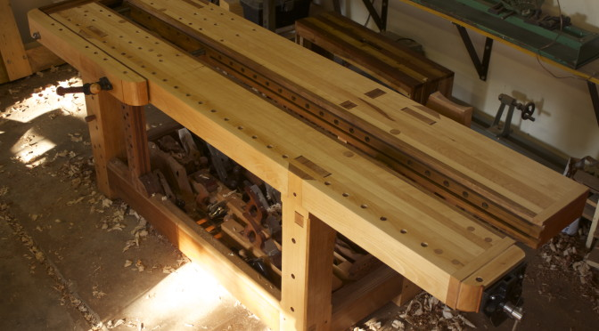 18th Century inspired workbench denouement