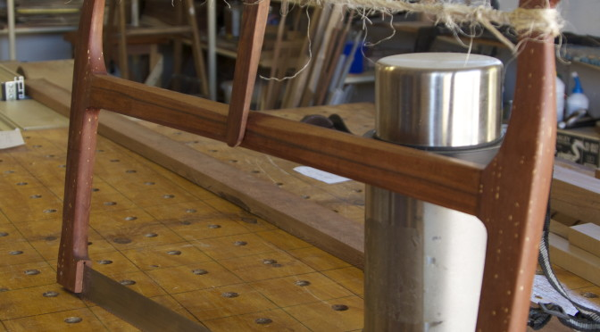 Shop made Roubo-esque crosscut bow saw