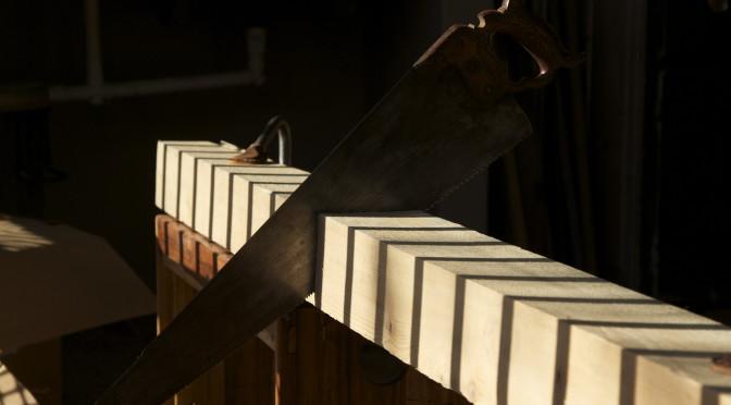 Roubo Sharpening bench – part 1