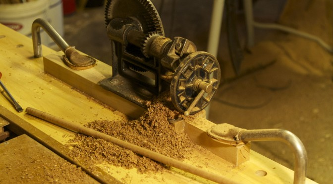 Roubo sharpening bench – part 10