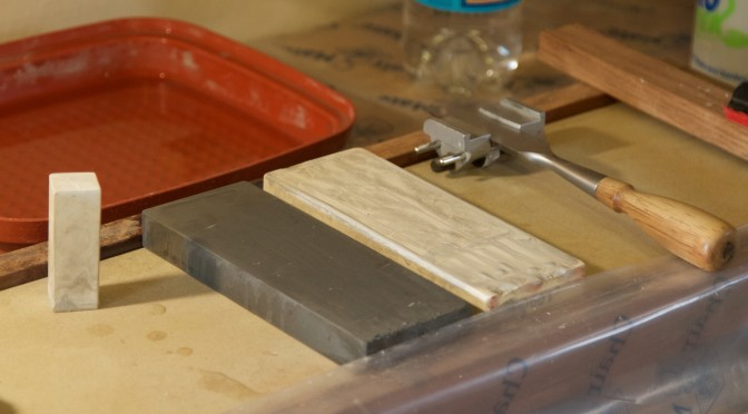 Roubo sharpening bench – the not so grand finale