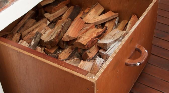 Firewood trays