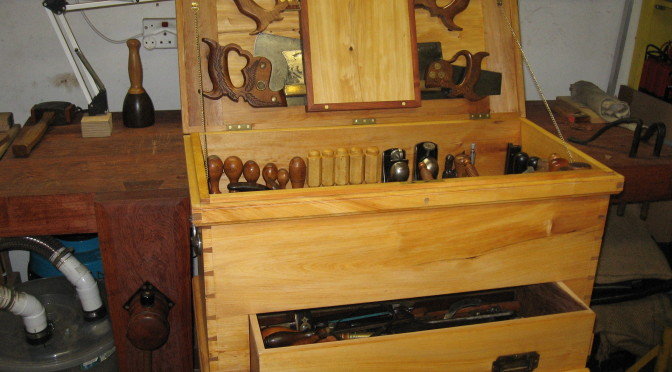 Cape Yellow Wood Tool Chest Journey
