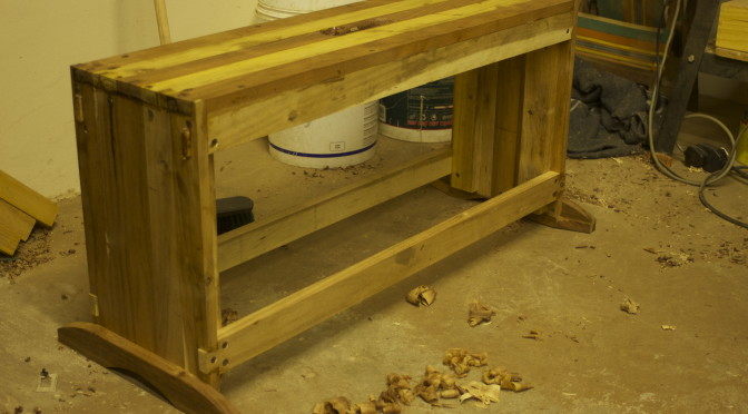 Shop made saw benches – 2