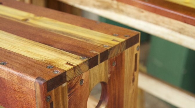 Shop made saw benches – 3