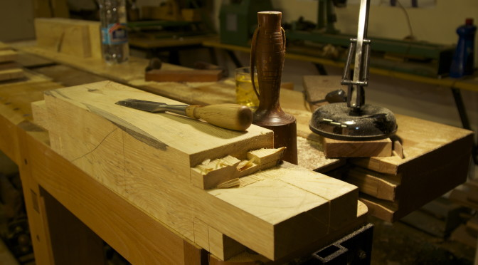 Roubo sharpening bench – part 2