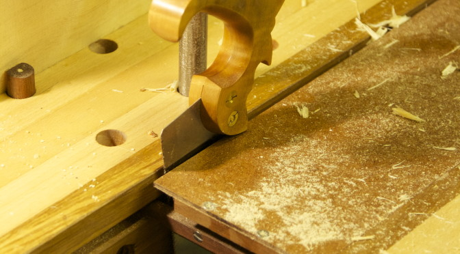 Roubo sharpening bench – part 3