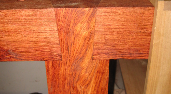 African Rosewood Roubo